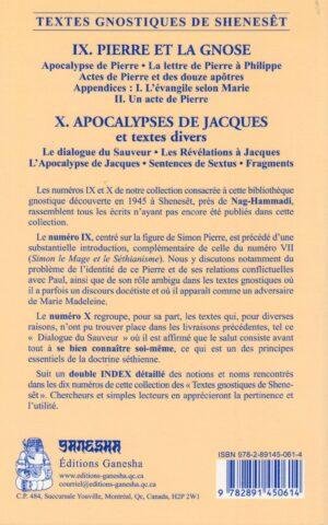 Pierre et la Gnose - Apocalypses de Jacques