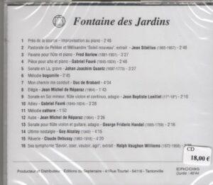 CD Fontaine des jardins