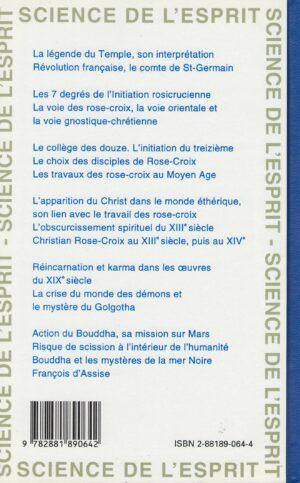 Christian Rose-Croix et sa mission