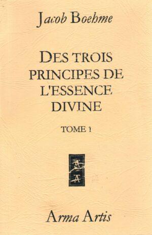 Des trois principes de l'essence divine