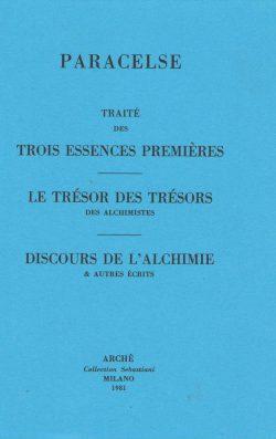 Traité des trois essences premières