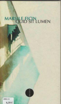 Quid Sit Lumen