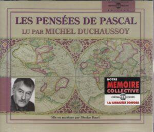 CD Les pensées de Pascal (3CD)