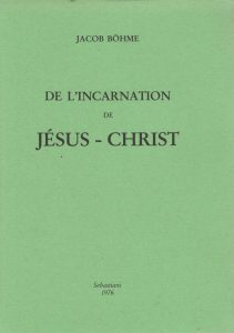 De l'incarnation de Jésus Christ