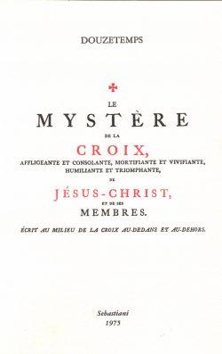 Le mystère de la croix