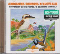 CD Ambiances sonores d'Australie