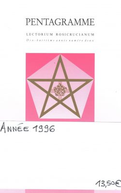 Revue Pentagramme - Année 1996