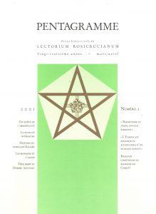 Revue Pentagramme n°2 - 2001