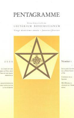 Revue Pentagramme n°1 2000