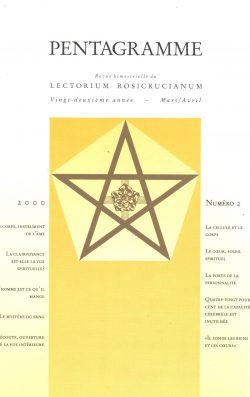 Revue Pentagramme n°2 -2000