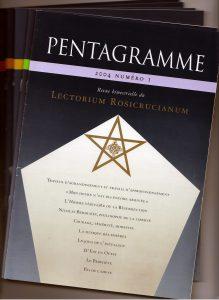 """Lot de 6 revues """"Pentagramme"""" Année 2004"""
