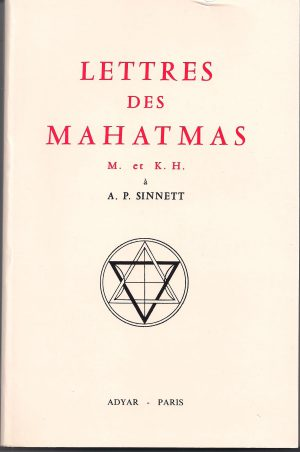 Lettres de Mahatmas
